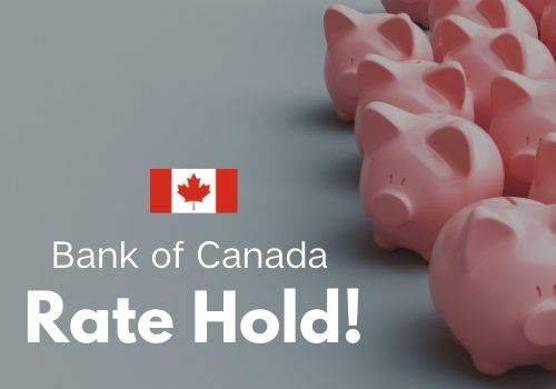 Bank Of Canada Rate Update June 9, 2021