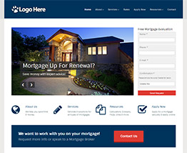 Roar Solutions Small Business Website Designs Templates - Mortgage website templates